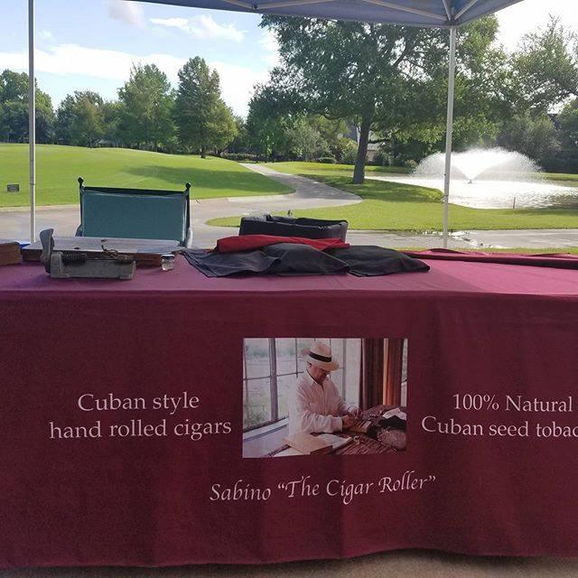golf cpurse setup