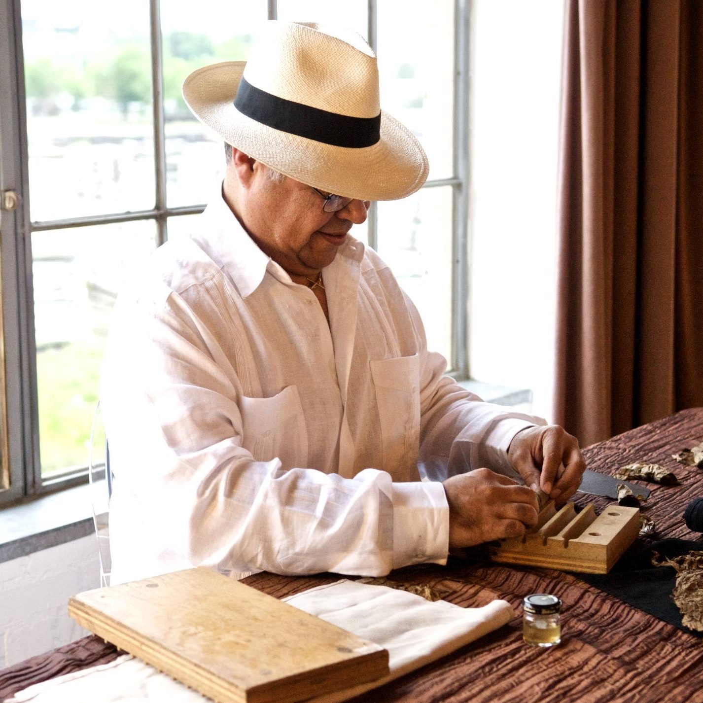 Cuban style hand rolled cigars
